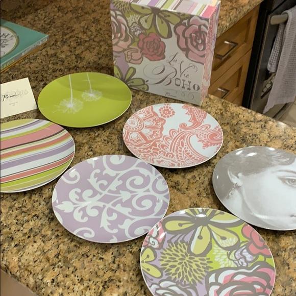 ROSANNA -  set of 6 desert plates